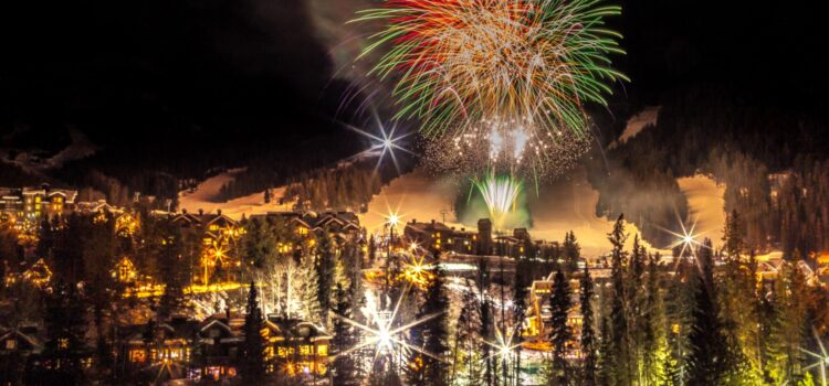 Family Day Fireworks at Panorama Mountain Resort